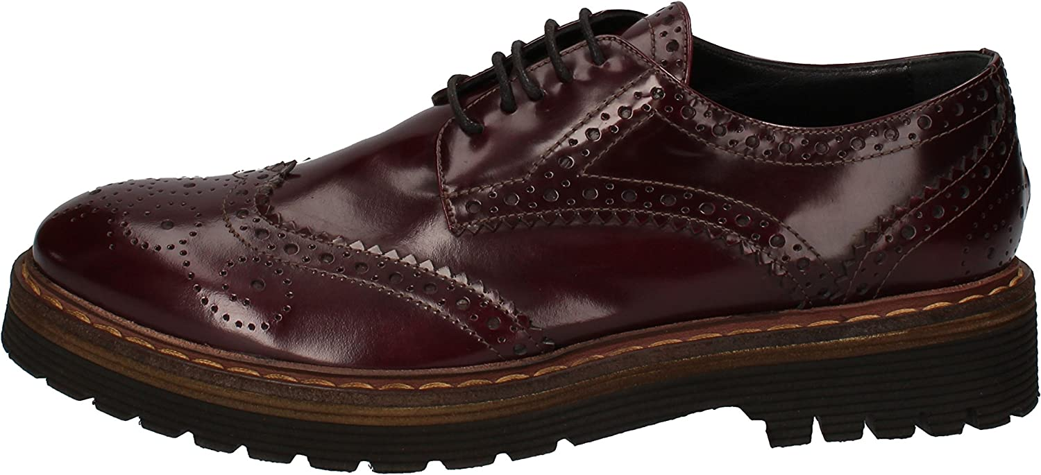 ANGELO BERVICATO Oxfords-shoes Womens Leather Purple