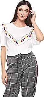BRAVE SOUL Blouses For Women, White 18 UK
