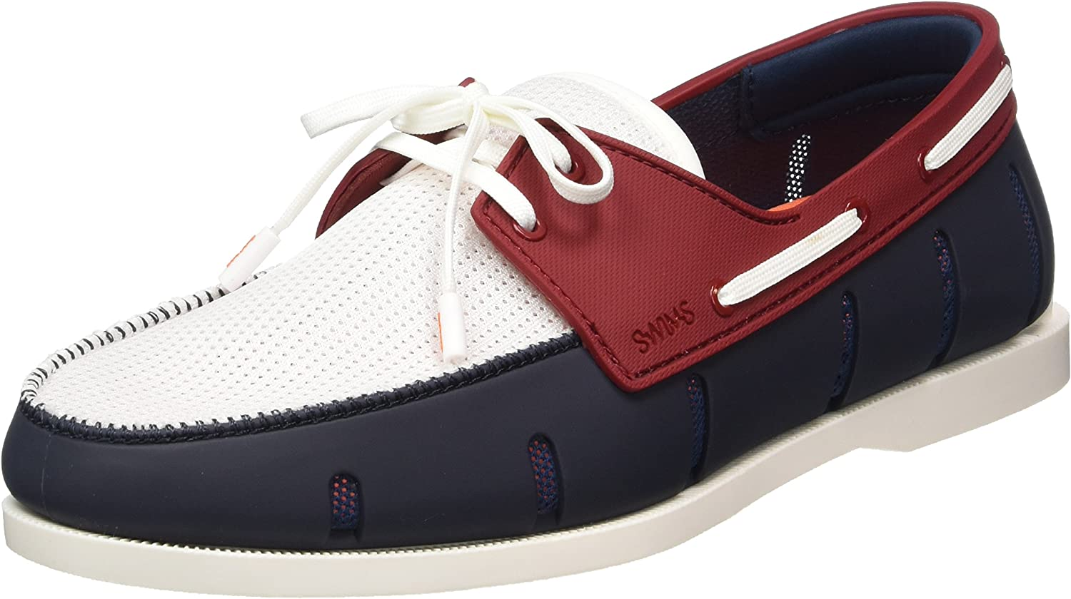 SWIMS Men's Boat Loafers, Ultralight and Durable, Stylish and Classic Look in color Combos