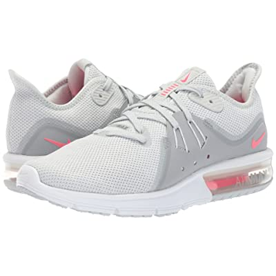 Nike Air Max Sequent 3 (Pure Platinum/Racer Pink/Wolf Grey) Women