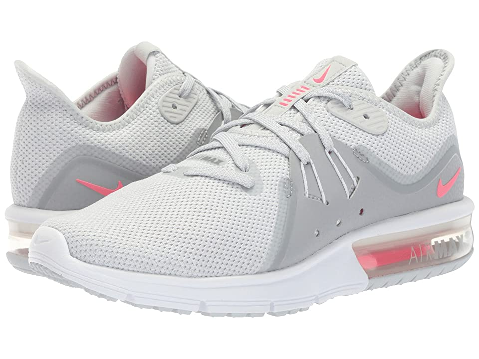 Nike Air Max Sequent 3 (Pure PlatinumRacer PinkWolf Grey
