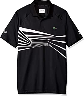 Men's Sport Novak Djokovic Short Sleeve Ultra Dry Graphic Polo