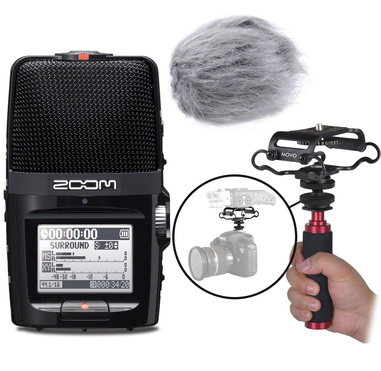 Portable Digital Recorder Windscreen Shockmount
