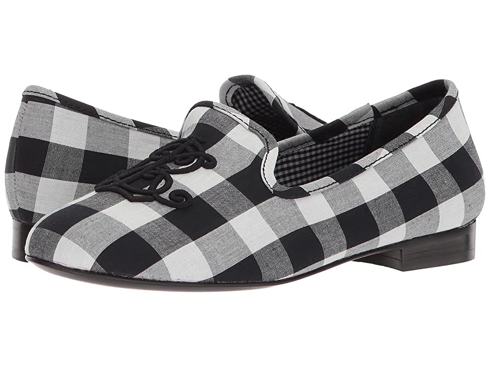 LAUREN Ralph Lauren Coleena III (Black/White Large Gingham) Women