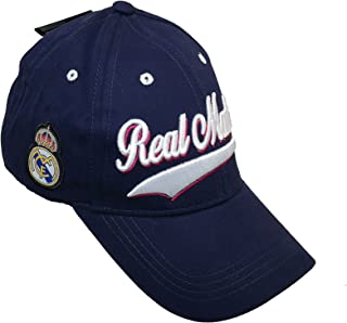 Rhinox Espana Gorra Real Madrid CF Sun Buckle Spain Curved Bill La Liga Hat Cap