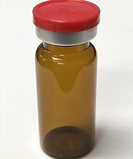 10ml Sterile Amber Glass Vials 10 Pack by ACS Pharma