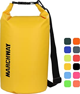 Floating Waterproof Dry Bag 5L/10L/20L/30L/40L, Roll Top Sack Keeps Gear Dry for Kayaking, Rafting, Boating, Swimming, Camping, Hiking, Beach, Fishing