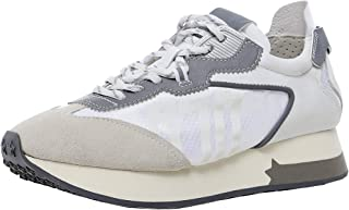 ASH Women's Leather Tiger Trainers Silver