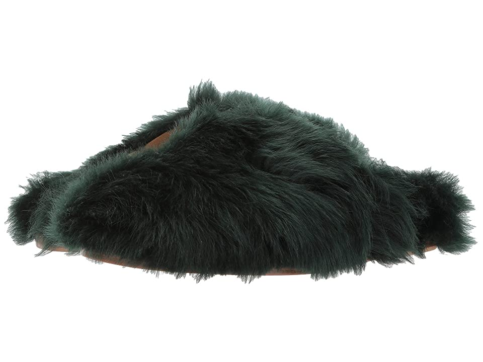 Marc Jacobs Furry Slide (Scarab) Men