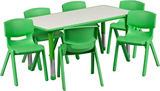 plastic table 6 seater