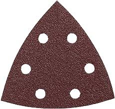 Bosch SDTR120 3-3/4 In. 120 5-Piece Grit Detail Sander Abrasive Triangles for Wood