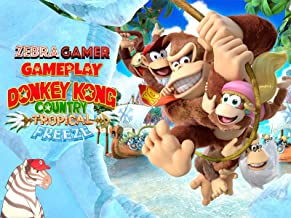 Clip: Donkey Kong Country Tropical Freeze Gameplay - Zebra Gamer
