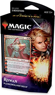 Magic: The Gathering Throne of Eldraine Rowan, Fearless Sparkmage Planeswalker Deck |..