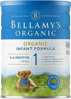 Bellamy's Organic stage 1 Infant Milk Formula, 0-6 months, 900g
