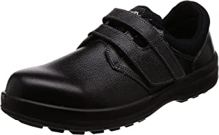 [シモン] 安全靴 短靴 JIS規格 耐滑 快適 軽快 WS18黒