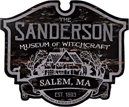 Sanderson Museum of Witchcraft Hocus Pocus Sign | Officially Licensed