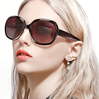 FIMILU サングラス レディース 大きめ 小顔 オシャレ 偏光レンズ 紫外線 uvカット アイウェア メガネ 人気 サングラス ドライブ 運転用