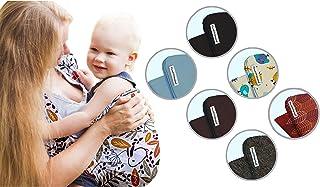 PiccolOrganics, Handgemacht BIO Babytrage GOTS - EU Marke Tragetuch baby aus Bio Baumwolle Babytragetuch Neugeborene Sicherheitszertifikat Elastisches Baby Sling Wrap Gewebtes Tragetasche Tragetücher
