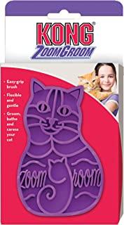 KONG - Cat ZoomGroom, Purple, 4 IN