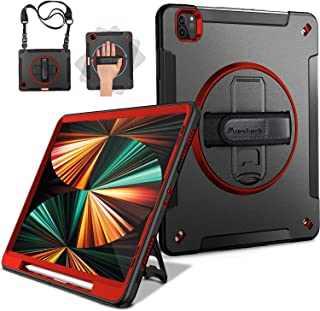 Miesherk iPad Pro 12.9 Case 2021/2020: Military Grade Heavy Duty Shockproof Cover for iPad Pro 12.9 Inch 5th/4th Generatio...