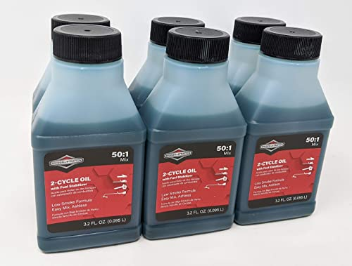 wholesale Briggs & new arrival Stratton 6-Pack 2-Cycle new arrival Oil - 3.2 Oz. 100107 outlet sale