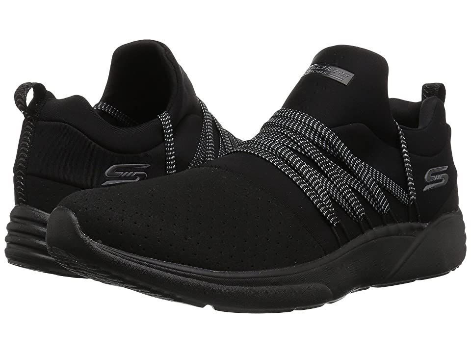 BOBS from SKECHERS Bobs Sparrow Moon Chaser (Black/Black) Women