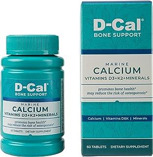 D-Cal® Bone Support Marine Calcium with Vitamins D3+K2+Minerals