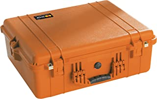 Pelican 1600 Camera Case With Foam (Orange)