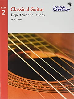 G5R02 - Classical Guitar Repertoire and Etudes - The Royal Conservatory 2018 - Level 2