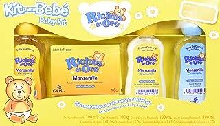 Ricitos de Oro Mini Kit Manzanilla, 4 Piezas