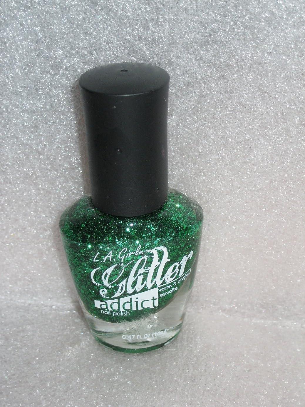 知り合いになるタール姿勢LA GIRL Glitter Addict Polish - Purge (並行輸入品)