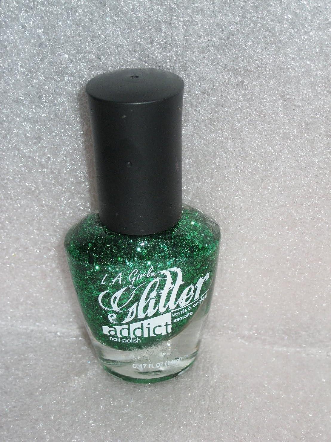 やさしく個人的にリマLA GIRL Glitter Addict Polish - Purge (並行輸入品)