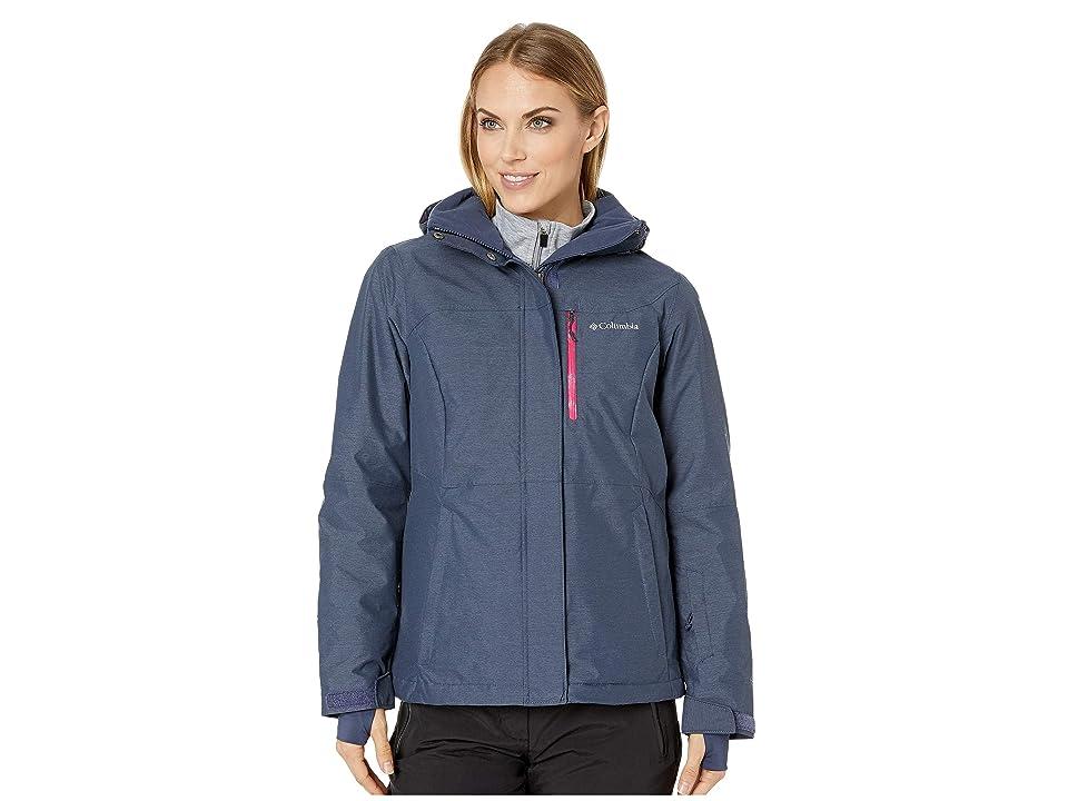Columbia Alpine Actiontm Omni-Heattm Jacket (Nocturnal Cross-Dye/Cactus Pink/Nocturnal) Women