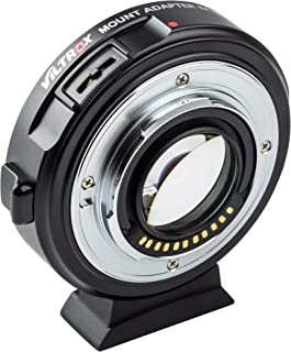 VILTROX EF-M2 II Focal Reducer Speed Booster lens Adapter Auto-Focus 0.71x voor EF Mount Serie Lens naar M43 Camera GH4 GH...