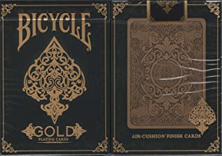Bicycle Gold Playing Cards Poker Size Deck USPCC Custom Limited Edition