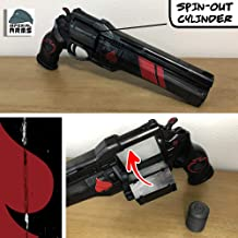 Destiny Custom Cayde-6 Last Hand Exotic Hand Cannon Prop With Functioning Ammo Cylinder (Safe Does Not Shoot)