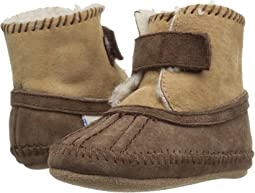 919ca8a9cba7 Robeez classic booties soft soles infant toddler brown