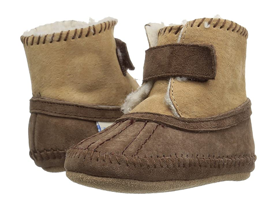 Robeez Galway Cozy Bootie Soft Sole (Infant/Toddler) (Brown) Boys Shoes