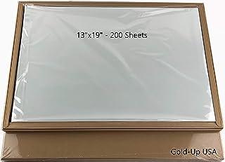 13`` x 19`` Waterproof Inkjet Transparency Film for Silk Screen Printing - 2 Pack (200 Sheets)