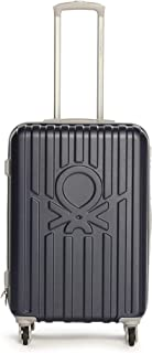 United Colors of Benetton Big Knot ABS 60 cms Navy Hardsided Check-in Luggage (0IP6MY24HL01I)
