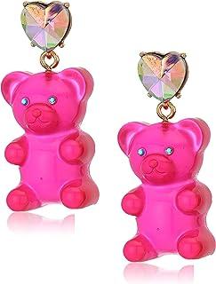 Bear Drop Earrings
