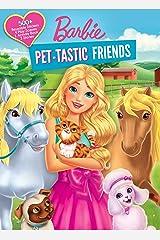Barbie: Pet-tastic Friends (Panorama Sticker Storybook) Paperback