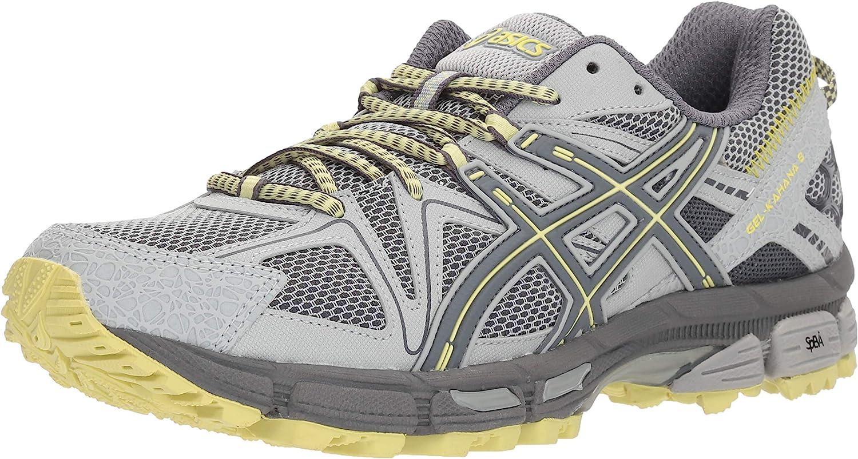 Asics - Frauen Gel-Kahana 8 Schuhe, 39 EU, Mid Mid grau Carbon Limelight  Online-Shopping-Sport