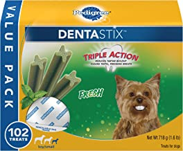 Pedigree DENTASTIX Fresh Toy/Small Treats for Dogs