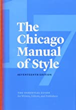 The Chicago Manual of Style 17ed