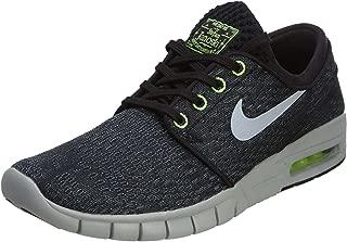 Nike SB Janoski MAX Black/Grey/Lime -631303-002
