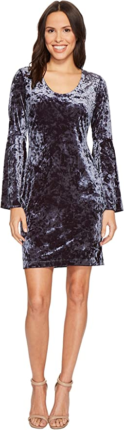 Karen Kane - Velvet Bell Sleeve Dress