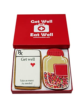 These Adorable Get Well Soon Cookies