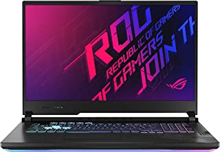 Asus ROG STRIX G712LV-EV009T STRIX G Gaming Laptop (Orignal Black) Intel Core i7-10750H Processor 2.6 GHz, NVIDIA GeForce RTX 2060, 6GB GDDR6, 1TB, 17.3 inch,Windows 10,Eng-Arb-KB