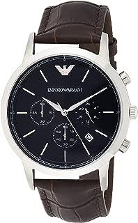 Emporio Armani Men's Watch Ar2494, Brown Band, Chronograph Display